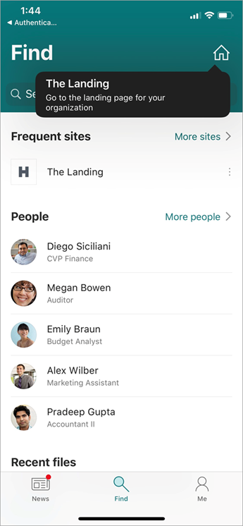 SharePoint app that shows home button which is the new feature of the Home Site